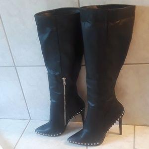 Badass stiletto boots